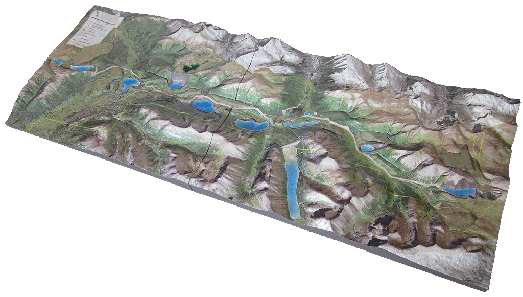 qmine 3d mine model-chihong-reclamation